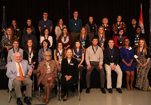 2014 Winners of Conklin Scholarships
