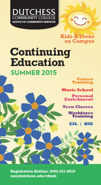 Continuing Ed Summer 2015 Cover