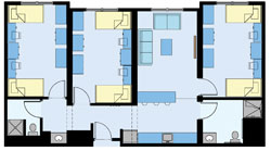 Dutchess Suite Floor Plan