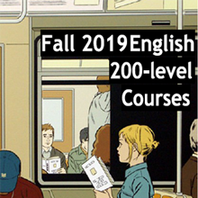 Image for Fall 2019 200-Level English Courses