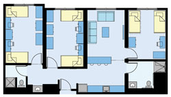Hudson Suite Floorplan