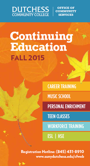 Continuing Ed Fall2015 Cover