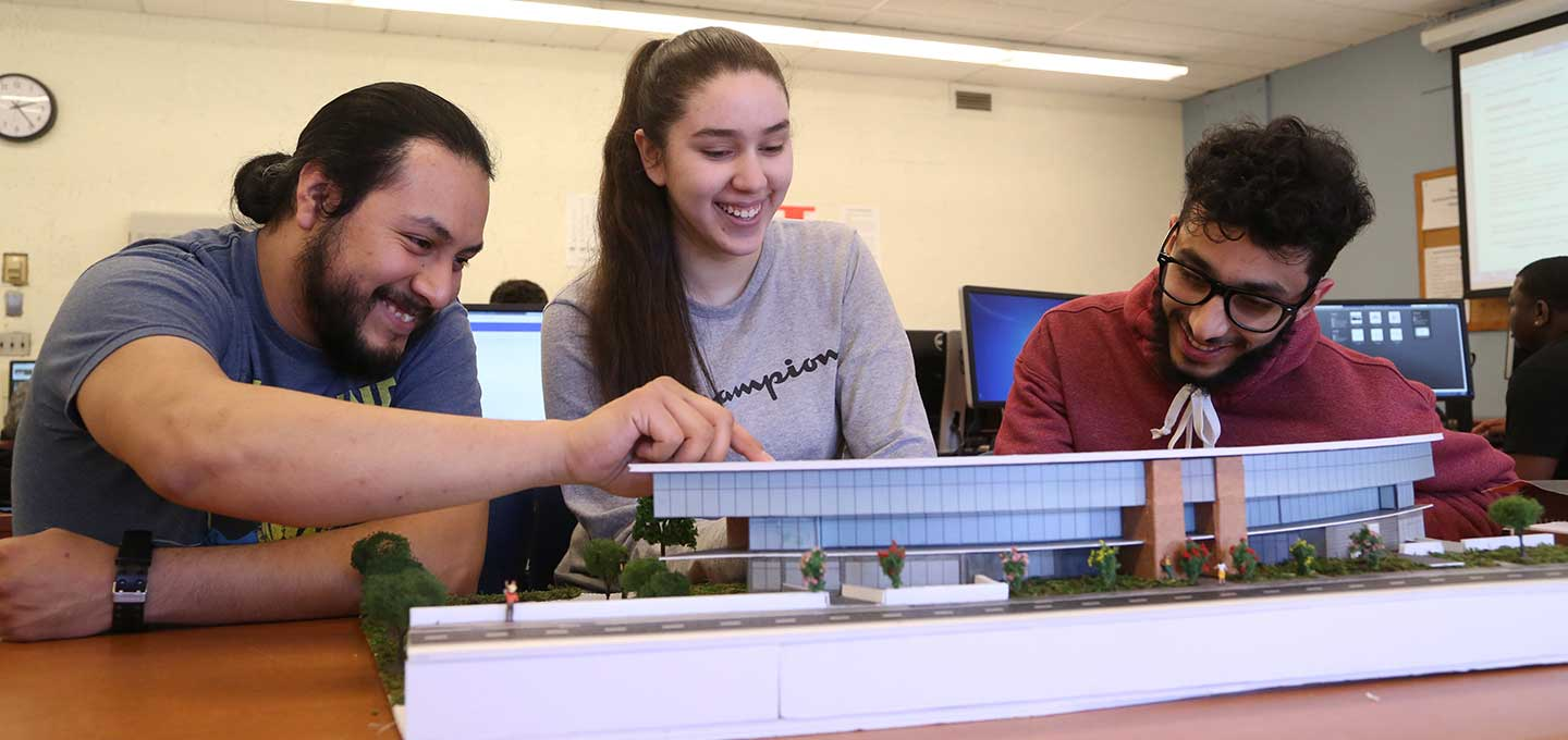Architectural students - capstone project