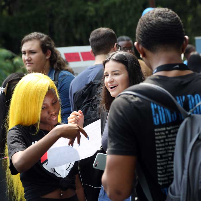 Students at Falcon Fest image